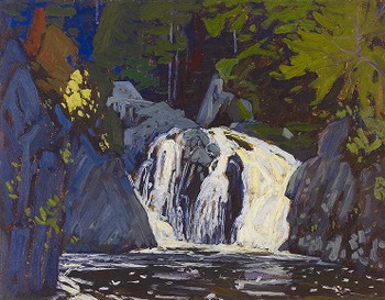 Waterfall, Algoma Canyon, Algoma