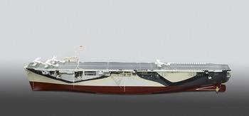 Escort Aircraft Carrier, HMS Activity, Builder's Model