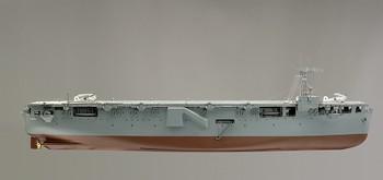 Aircraft Carrier, H.M.S. Vindex, Builder's Model