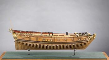 24 Gun Warship, Nightingale, Navy Board Model