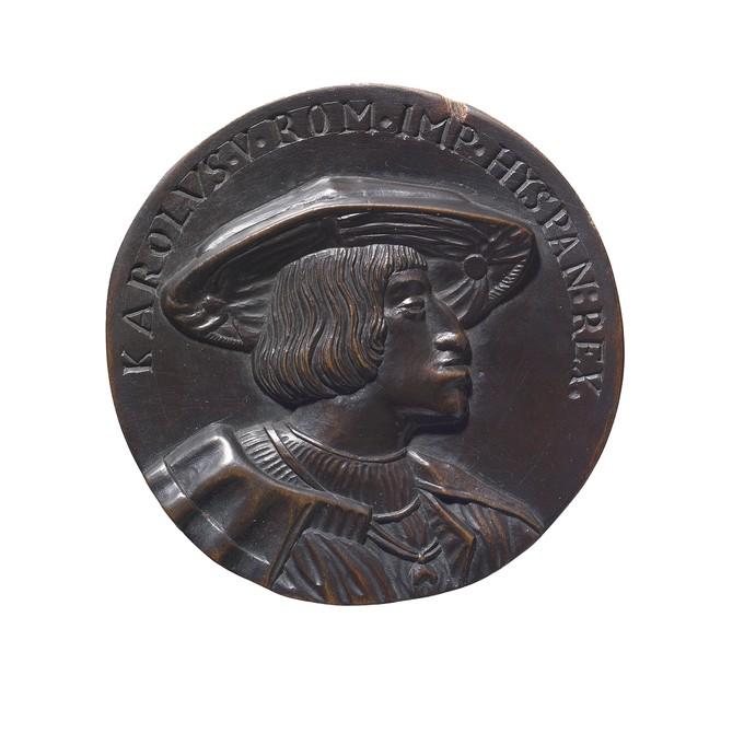 Model for a Medal: Portrait of Emperor Charles V