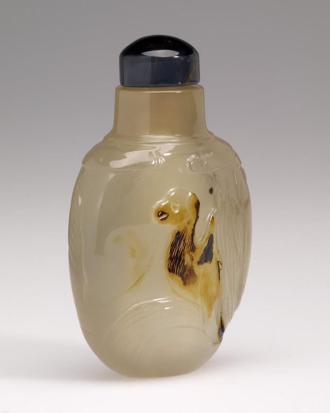 Snuff Bottle in Agate