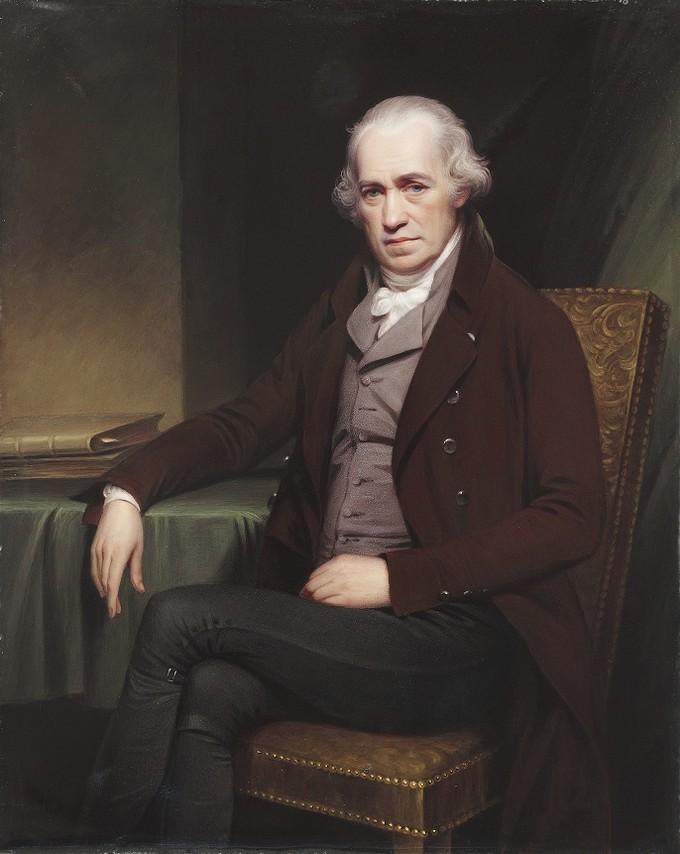 Portrait of James Watt (1736-1819)