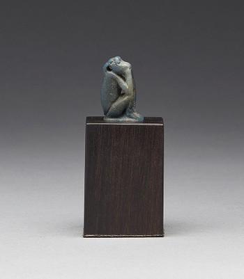 Seated Monkey Amulet