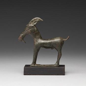 Greek Bronze Goat