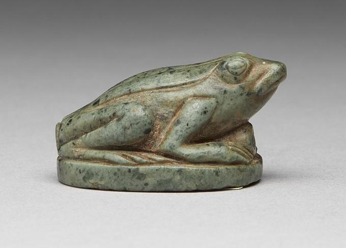 Steatite Frog Amulet