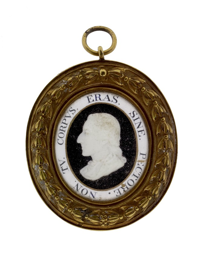 Oval Pendant with Portrait of Earl Spencer