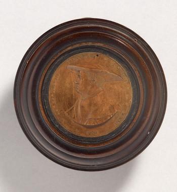Model for a Medal: Portrait of Liennhart Schregl