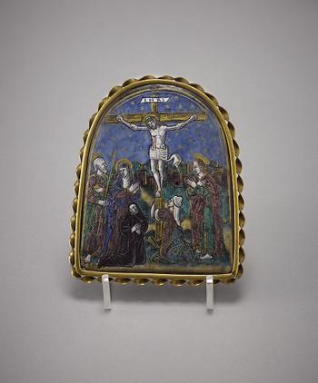 Plaque: The Crucifixion