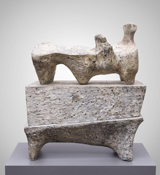Reclining Figure on Pedestal