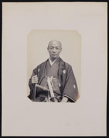 202. Oho-seki fan-no zouké (40 years old) born in Yeddo. 2nd servant to the 1st Embassador of the Shogunate of Japan in Paris.