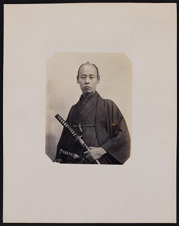 198. Seki-sin-patsi (23 years old) born in Yeddo. Officer Second Class, English interpreter for the Embassy of the Shogunate of Japan in Paris.