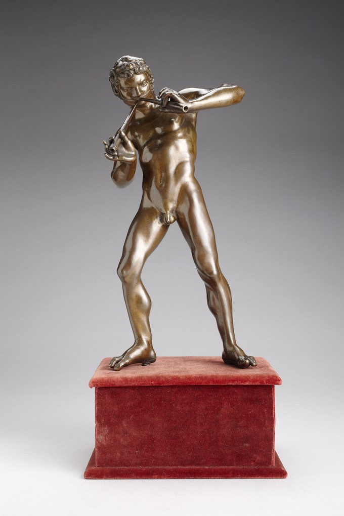 Marsyas Playing the Double Flute
