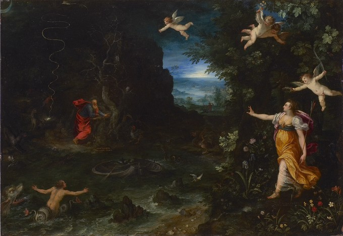 """Allegory of Life (""""The Dream of Raphael"""")"""