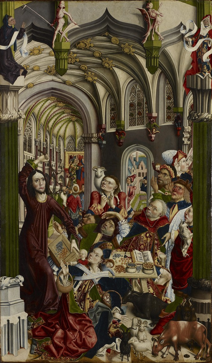 The Expulsion of the Money-Changers