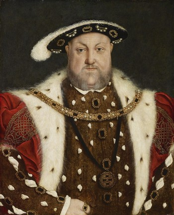 Portrait of Henry VIII (1491-1547; reigned 1509-47)