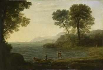 The Embarkation of Carlo and Ubaldo