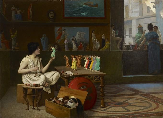 The Antique Pottery Painter: Sculpturae vitam insufflat pictura