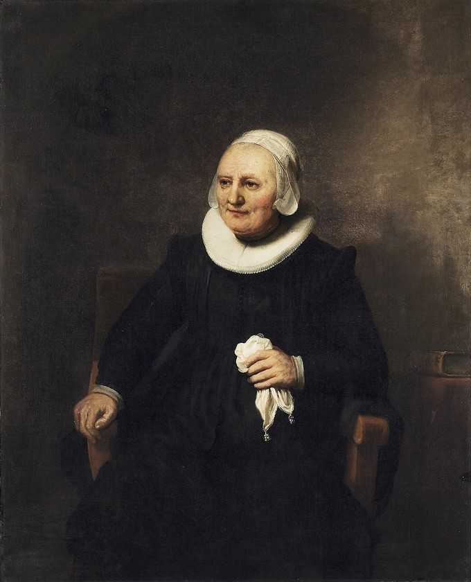 Portrait of a Seated Woman with a Handkerchief