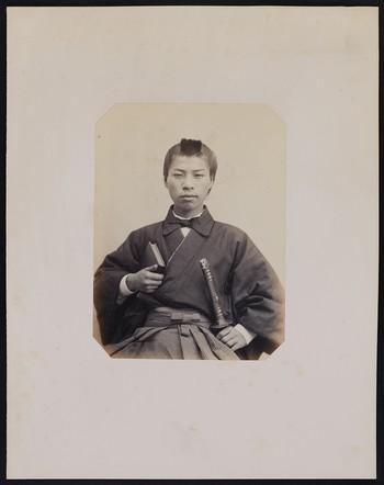 210. Ok kotsou watari (17 ans) Coiffeur des Officiers de l'Ambassade du Taiconne du Japon à Paris, frontal
