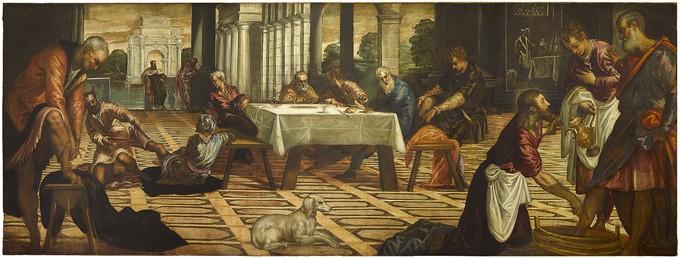 Christ Washing His Disciples' Feet