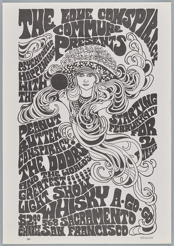 The Doors, Peanut Butter Conspiracy, February 4-18, Whiskey A Go-Go in San Francisco