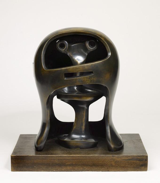 Helmet Head No. 2