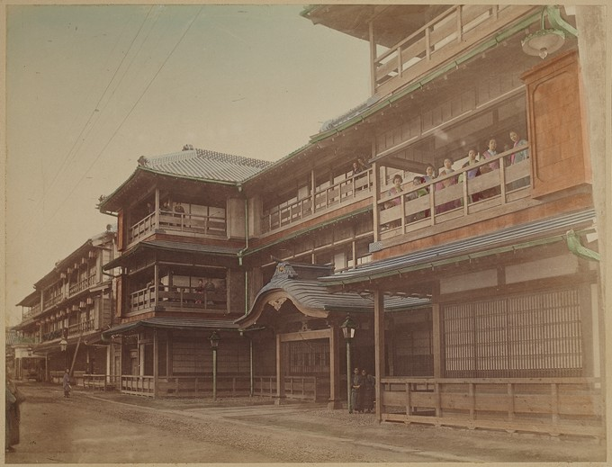 The Yoshiwara in Tokyo