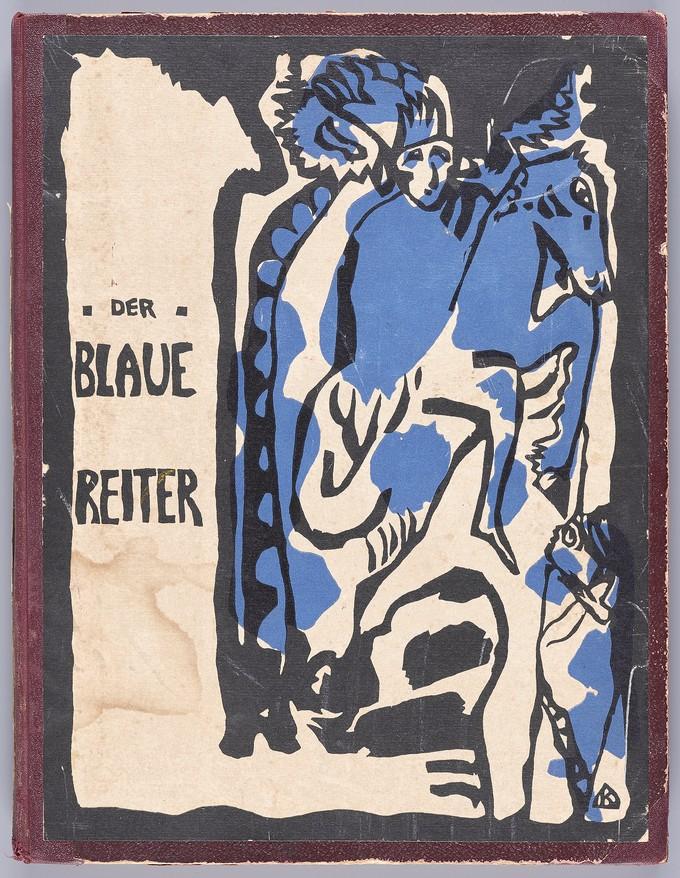 Der Blaue Reiter, herausgeber Kandinsky und Franz Marc. 2 Aufl