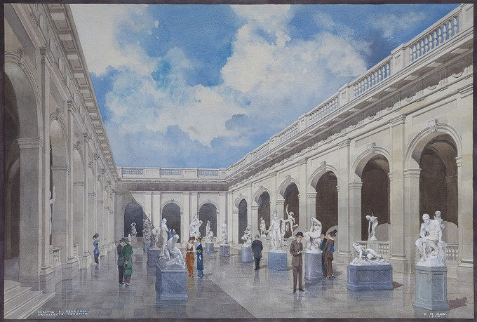 Art Museum of Toronto: Sculpture Courts and Galleries