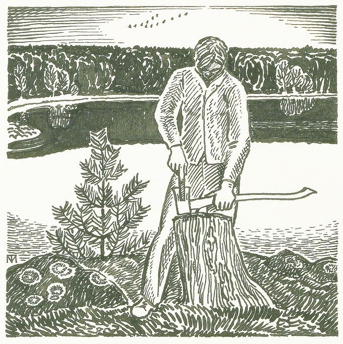 Some designs for H.D. Thoreau's Walden
