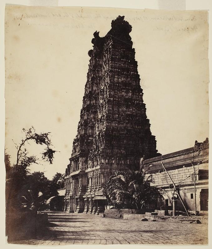 Madura. The Great Pagoda. West Gopurum