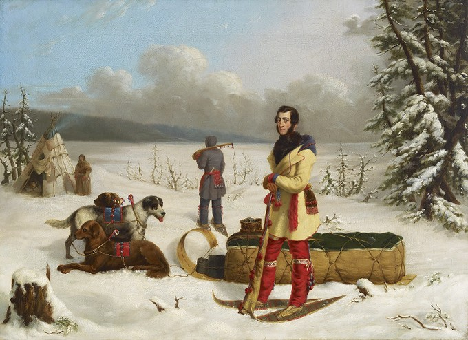 Scene in the Northwest - Portrait