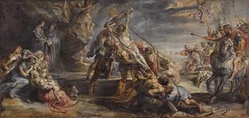The Raising of the Cross