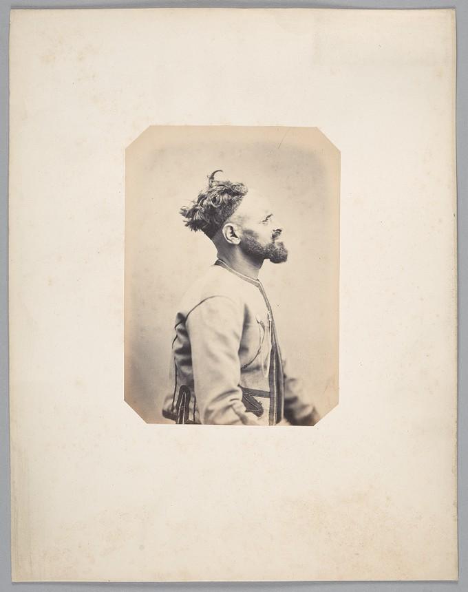 117. Djellali Ben Selimen of the tribe of Mina, Oran province (Algeria) (Corporal with the Algerian Fusiliers)