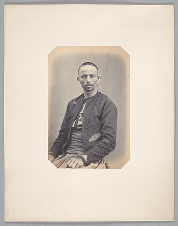 124. Messaoud ben amar (30 years old) born in Batna (Algeria) Brigadier with the 3rd Spahi regiment