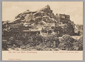'The Fort and Rock, Trichinopoly'
