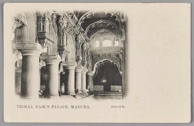 'TRIMAL NAIK'S PALACE, MADURA.'