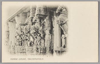'HORSE COURT, TRICHINOPOLY.'