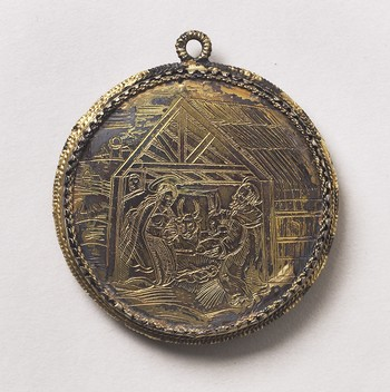 Pendant: The Annunciation
