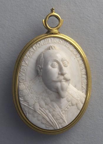 Portrait of King Gustavus Adolphus of Sweden