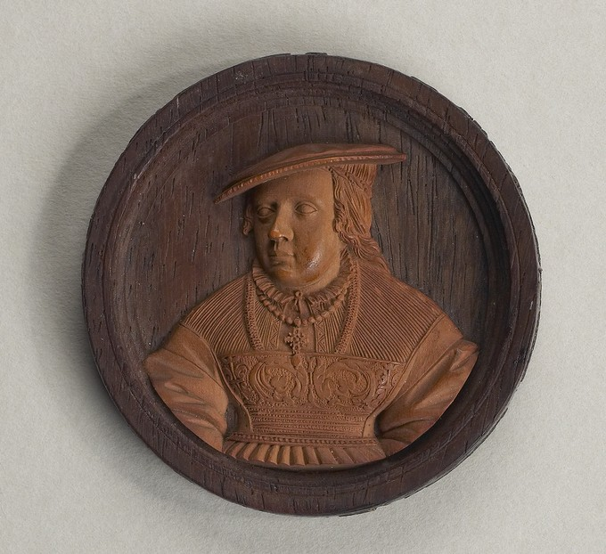 Model for a Medal: Portrait of a Woman