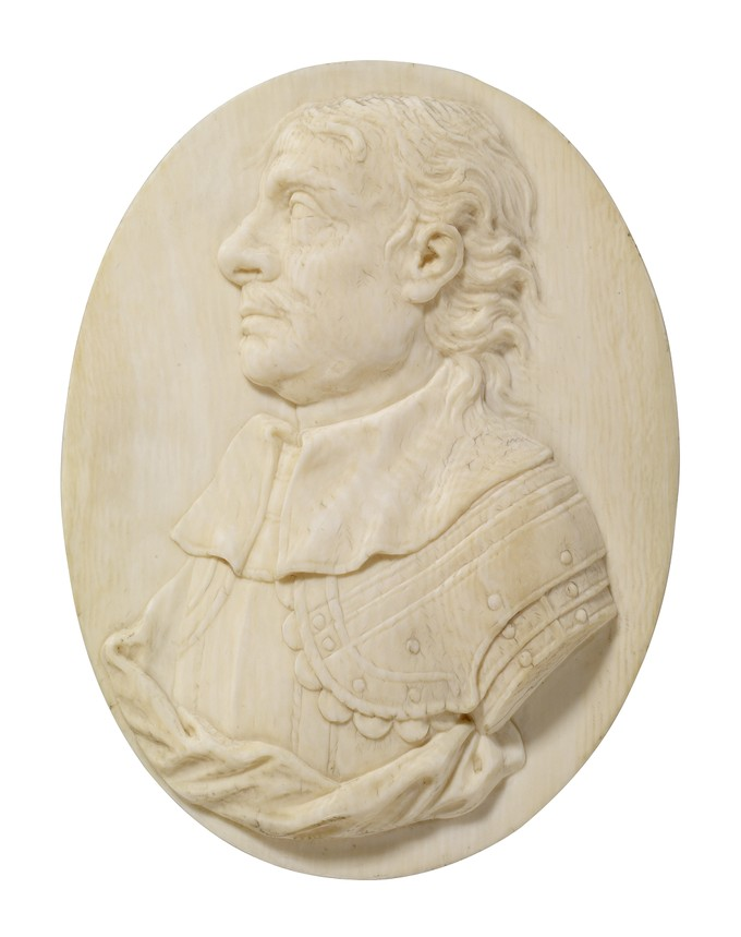 Ivory Carving of Cromwell