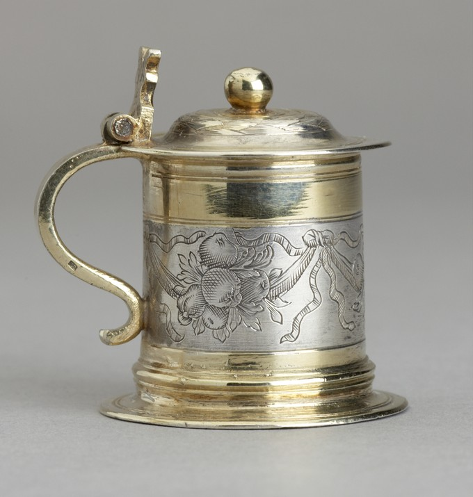 One of a Pair of Miniature Tankards
