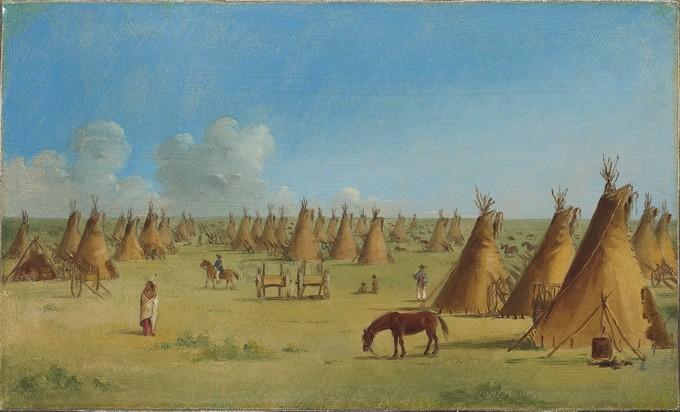 A Metis Encampment