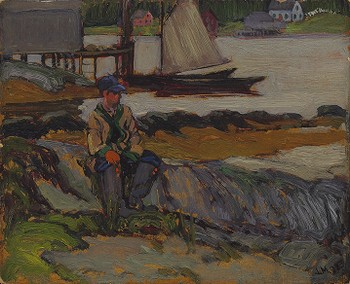 A Nova Scotian Fishing Boy