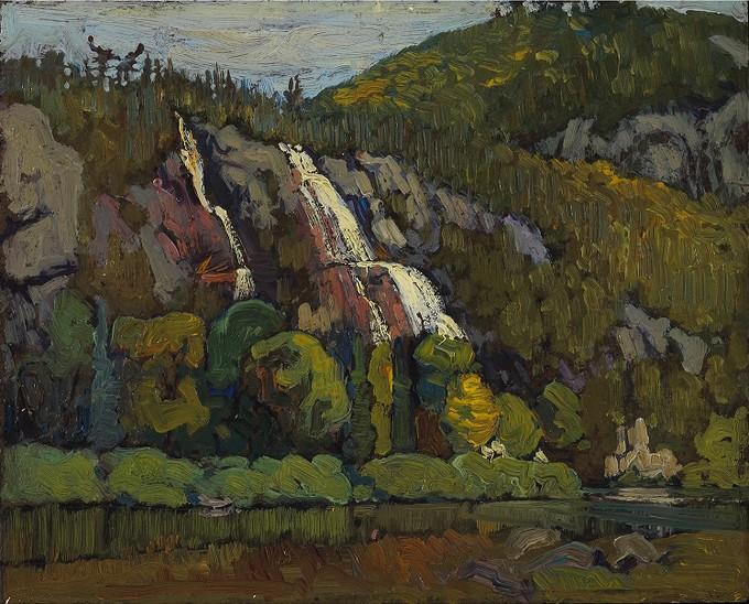 Bridle Falls Canyon