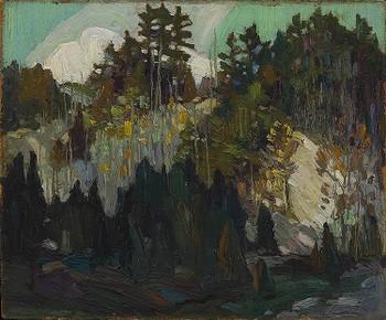Cedars on Hillside