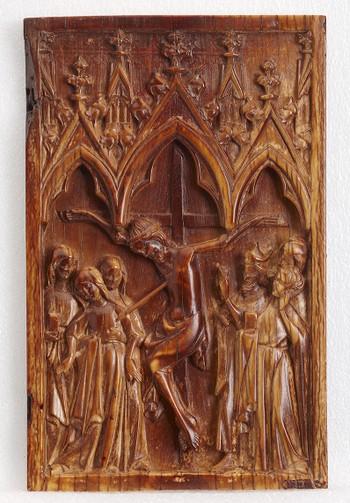 Plaque: Crucifixion