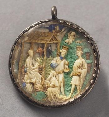 Pendant: The Adoration of the Magi
